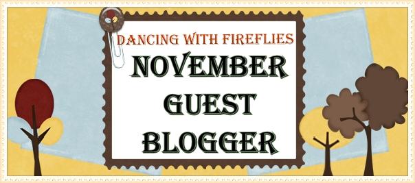 november guest blogger