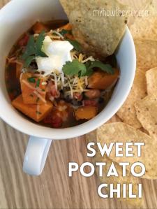 Sweet Potato Chili Recipe - Guest Blogger recipe