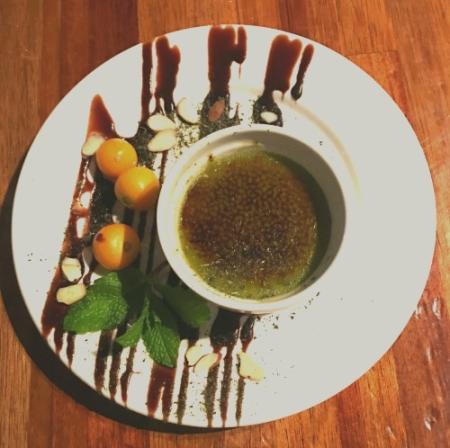 Grean Tea Crème Brulee @Summer Summer in Emeryville, Ca