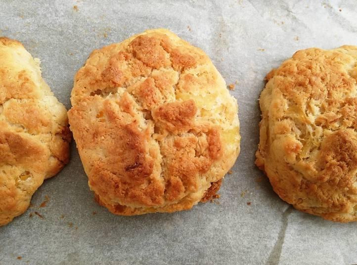 coconut pineapple drop biscuits 1