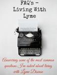 FAQ's Lyme